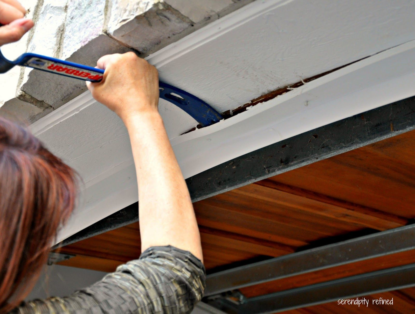 Serendipity Refined How To Replace A Garage Door Weather Seal