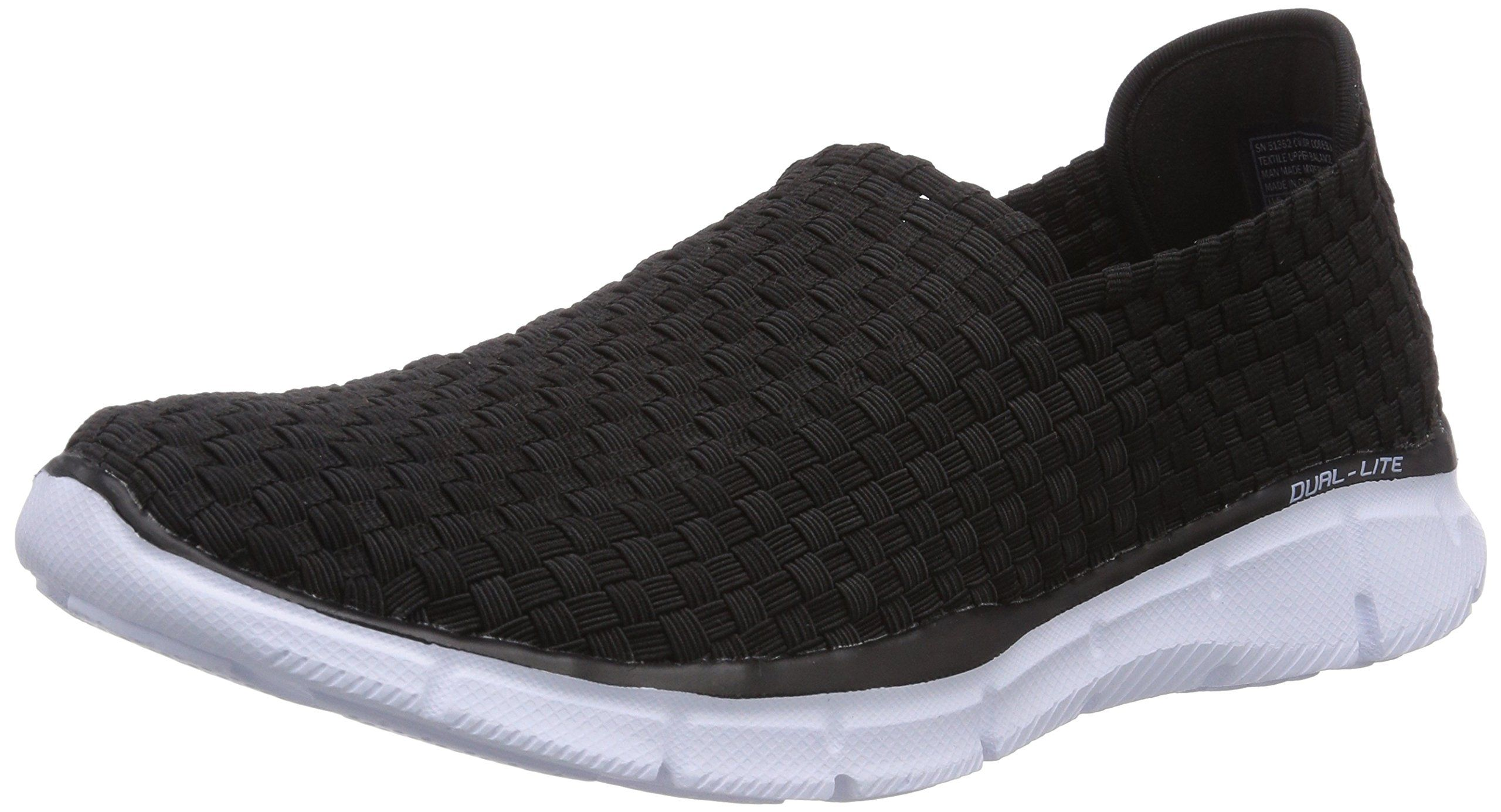 Amazon.com: Skechers Men's Equalizer - Familiar Walking Shoes - Black: Shoes