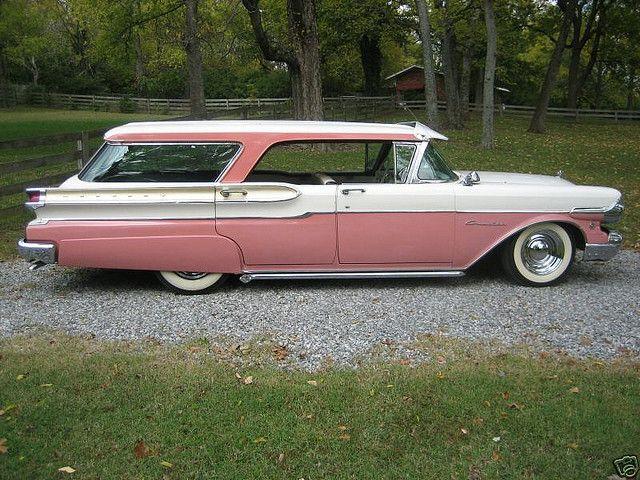 1957 Mercury Classic Cars Trucks Station Wagon Classic Cars