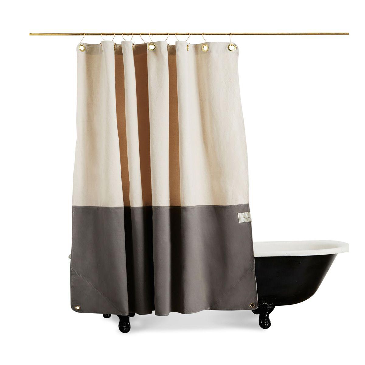 The Orientu0027 Canvas Shower Curtain