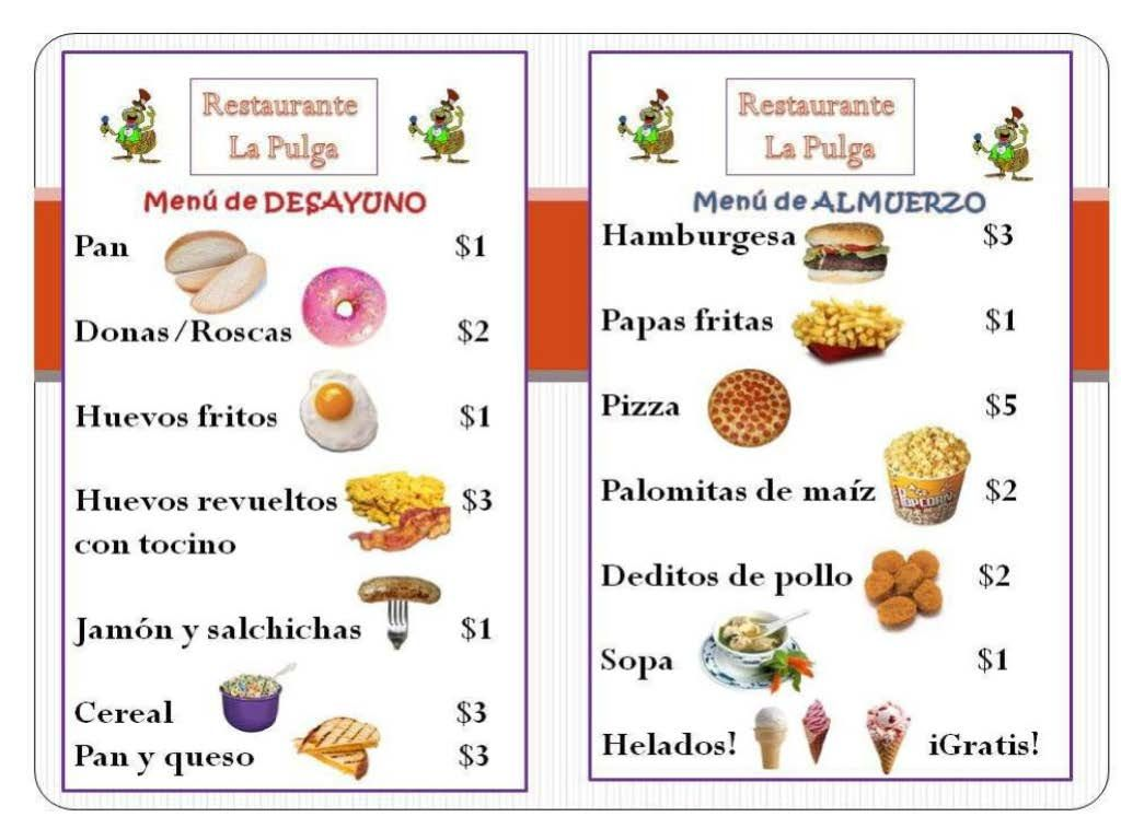 Displaying 20 Images For El Restaurante Clipart