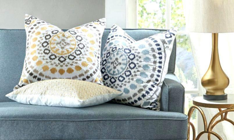 Large Sofa Pillows Brown Throw Pillows Living Room Pillows