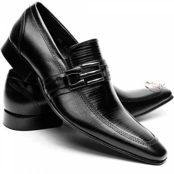 Sapato Social Estilo Italiano Solado em Couro Bigioni Homem - DHL Calçados