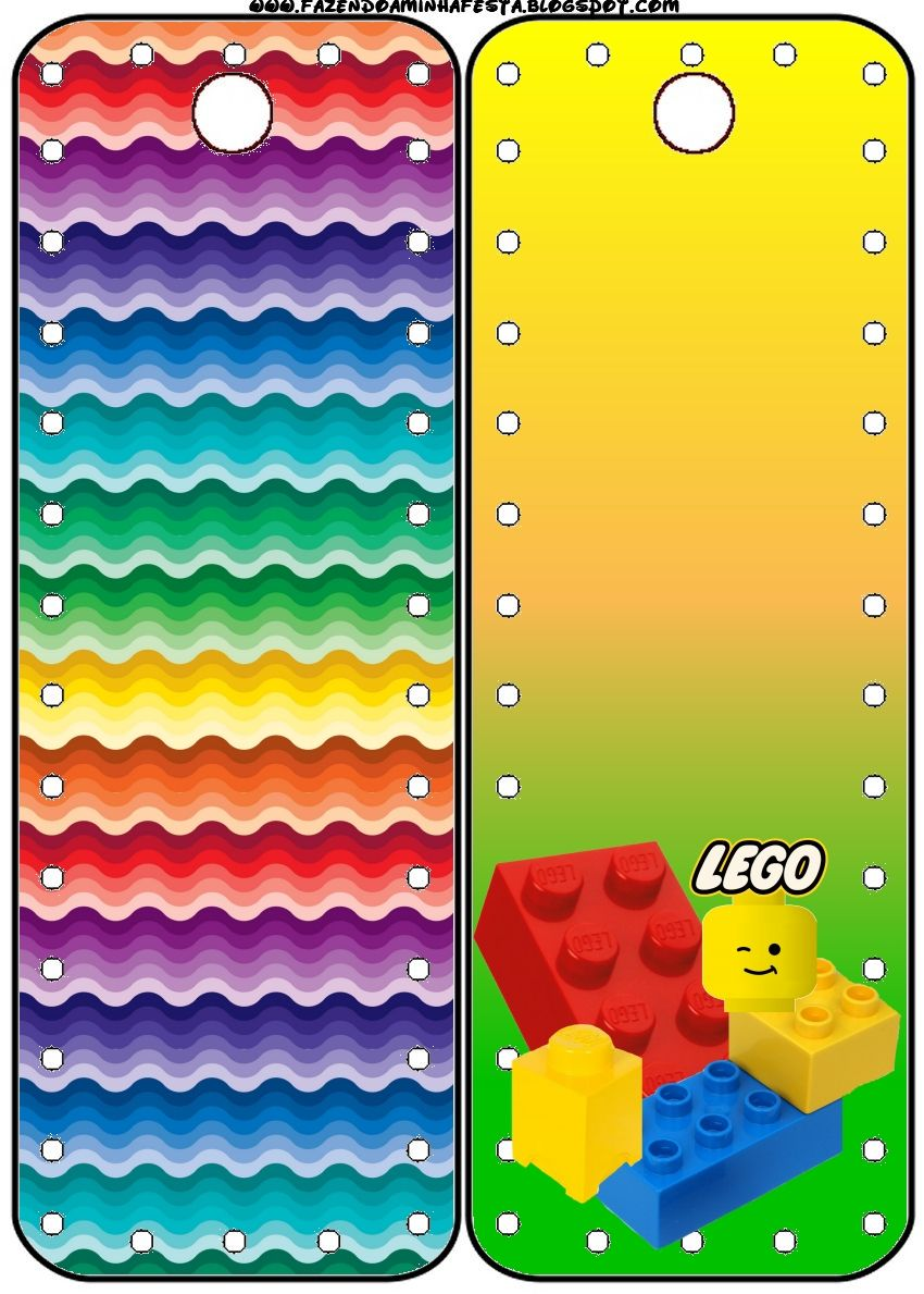 Lego Free Party Printables, Backgrounds and Images. | Oh My Fiesta! in english
