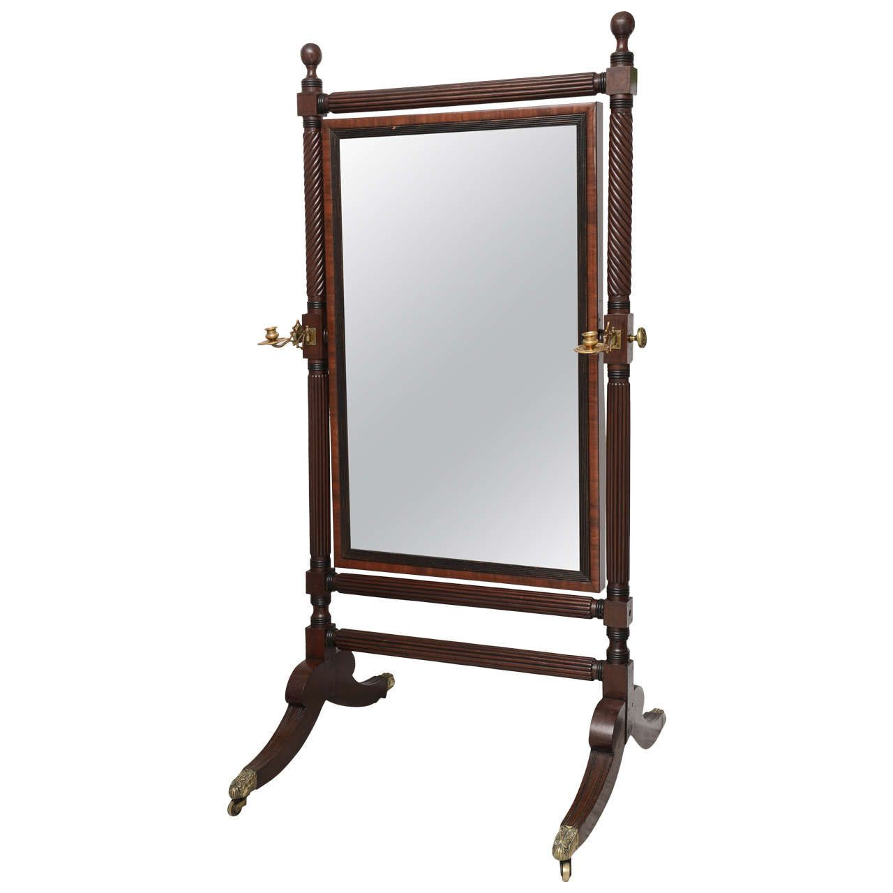 George IV Cheval Mirror | From a unique collection of antique and ...
