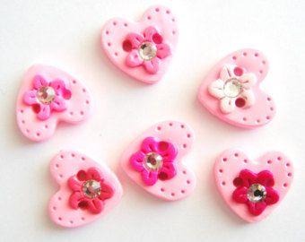 Botones botón conchas sólidas hechas a mano del por digitsdesigns