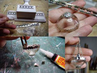 Pequeneces Diy Lamparas En Miniatura Miniature Lamps Tutoriales Casa De Munecas En Miniatura Miniaturas Miniaturas Tutoriales