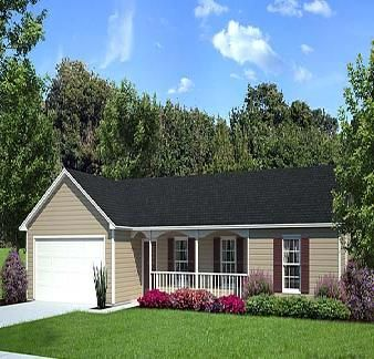 Landscaping ranch houses home design plans raised ranch for Raised ranch house plans designs