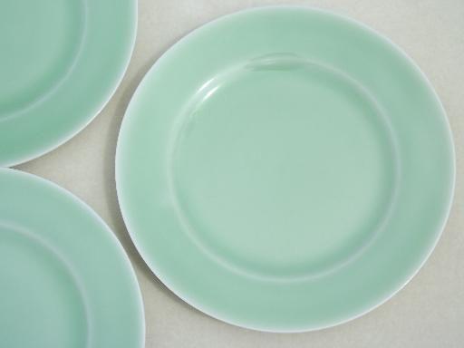 vintage celadon green porcelain china plates made in Japan & vintage celadon green porcelain china plates made in Japan | Green ...