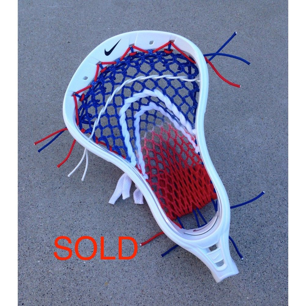 Red Lacrosse Heads Stringing Patterns Google Search Lacrosse Pattern Red