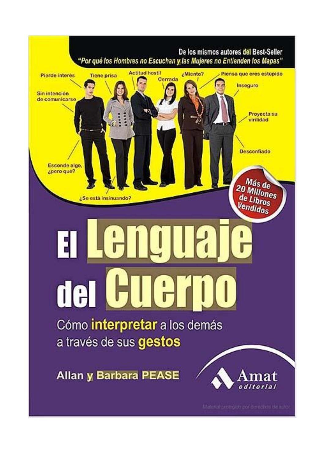 Pease Allan El Lenguaje Del Cuerpo Digital Publishing Author Newspapers