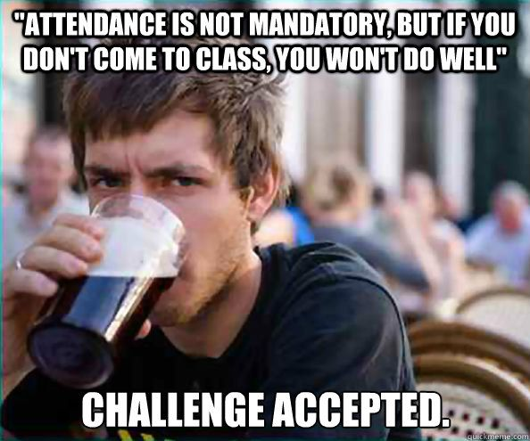 Lazy College Senior Laugh Humor Just For Laughs