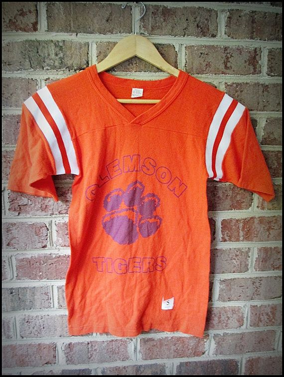 vintage clemson jersey