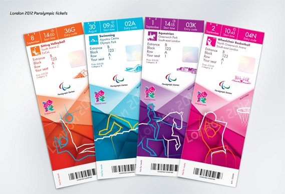 Creative Review - Olympics ticket designs revealed | Diseño que nos ...