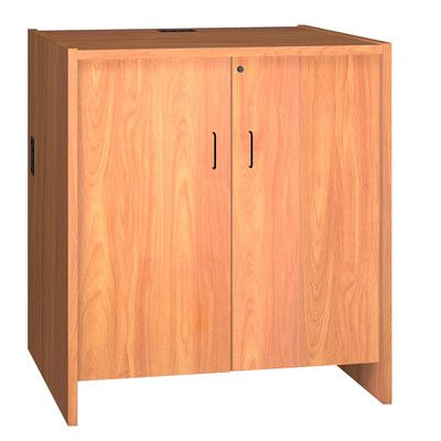 "Ironwood Glacier Hinged Door Unit Size: 32.13"" H x 36"" W x 30"" D, Finish: Oiled Cherry"