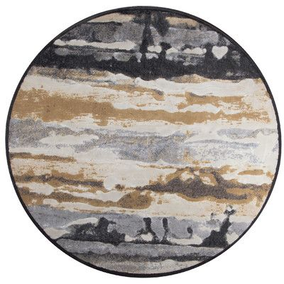 The Conestoga Trading Co. Area Rug Rug Size: Round 7'10""