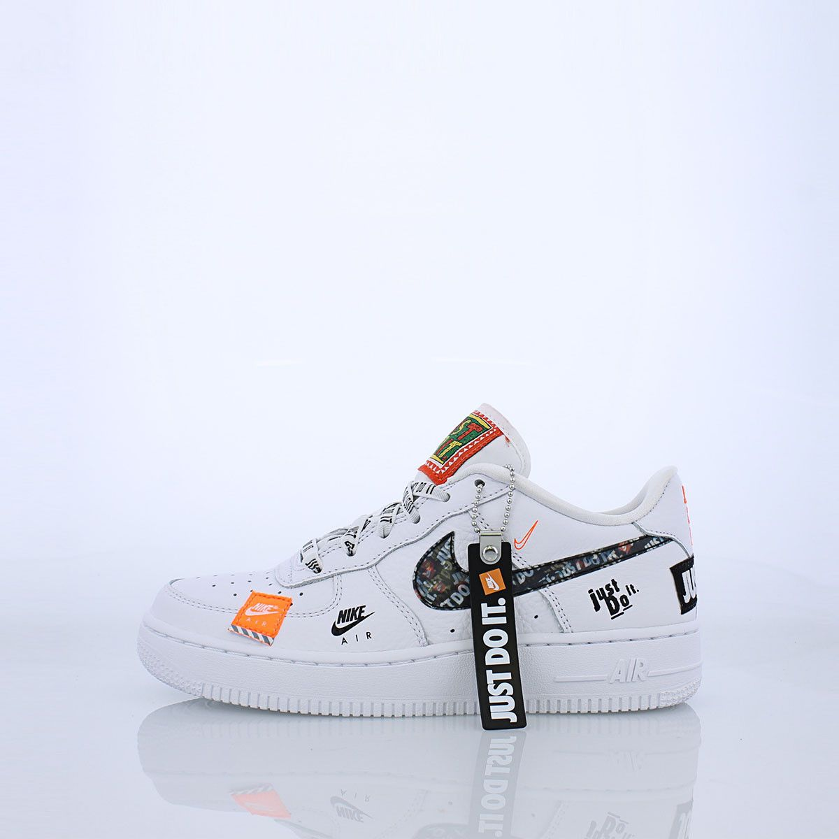 555cc5d5bfc84d All-over prints of the Nike Air Force 1 join together for the 30th  anniversary of JDI catchphrase with a Kid s version. Complete with JDI  laces and a ...