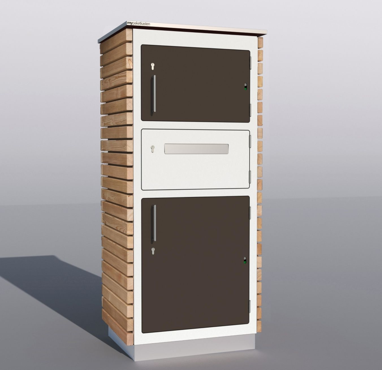 Paketkasten Classic Line Paketkasten Briefkasten Briefkasten Modern
