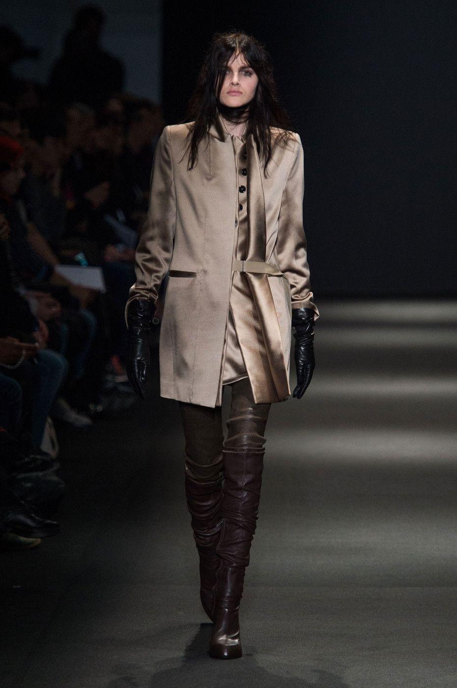Ann Demeulemeester at Paris Fashion Week Fall 2015.