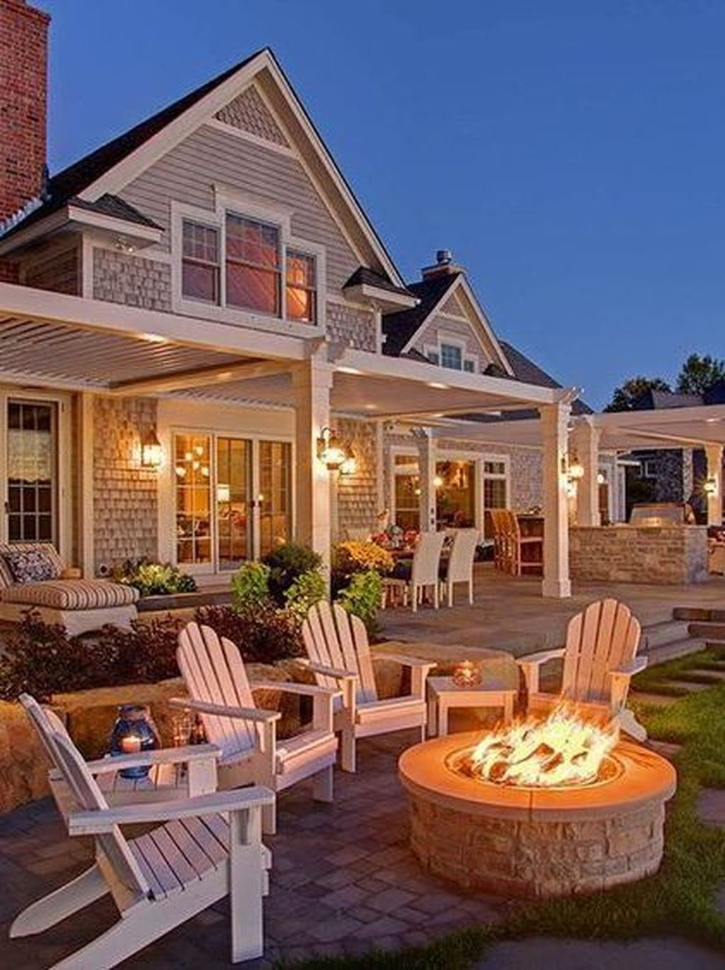 amazing outdoor living space