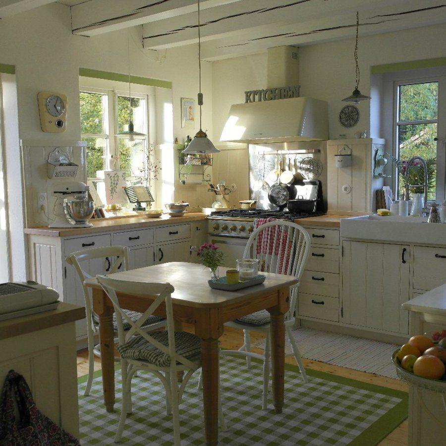 landhaus einrichtung deko, sonne in der küche #interior #interiorideas #einrichtung, Design ideen