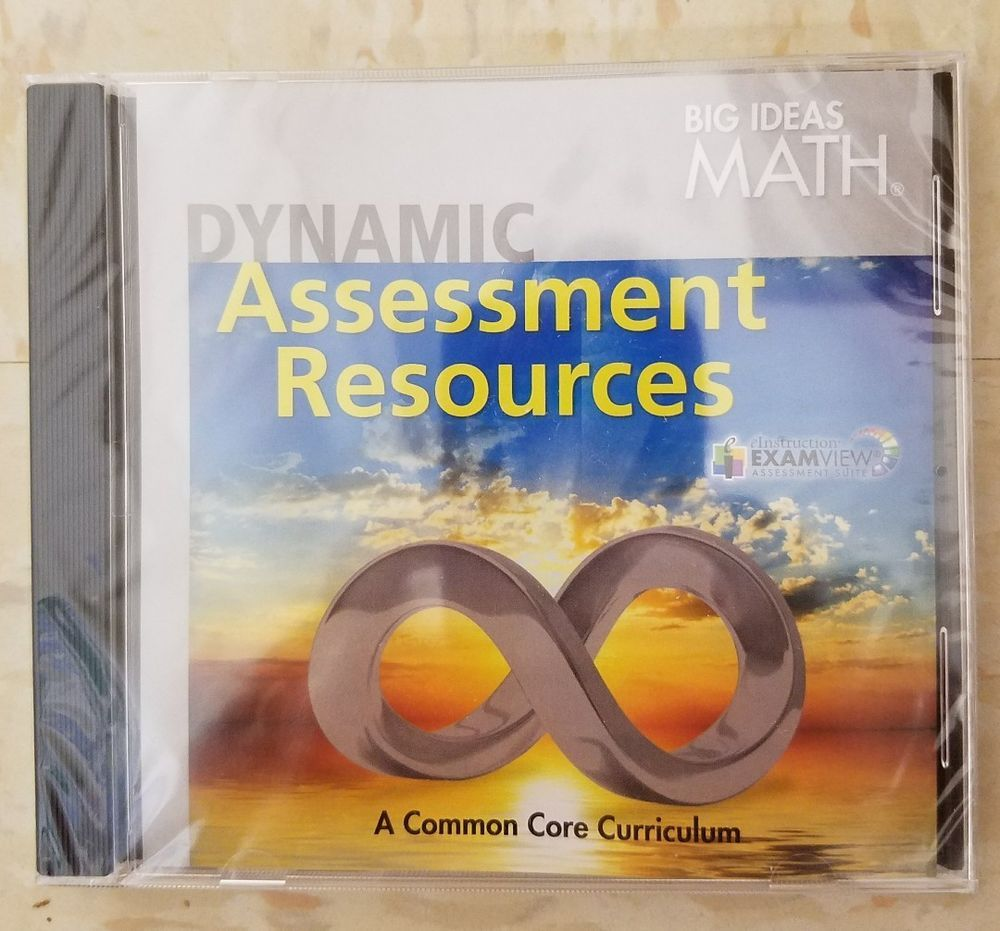 new big ideas math dynamic assessment resources dvd grades 6 7 8