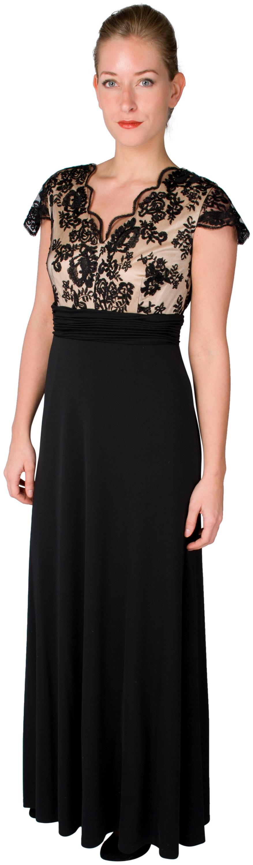 Elegantes, schwarzes Abendkleid von Vera Mont aus der Kollektion ...
