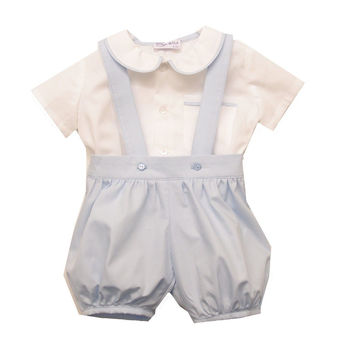 a5f4a2a6bd1c William Shirt Romper Pants. This baby boys outfit is ideal for any special  occasion such as christening