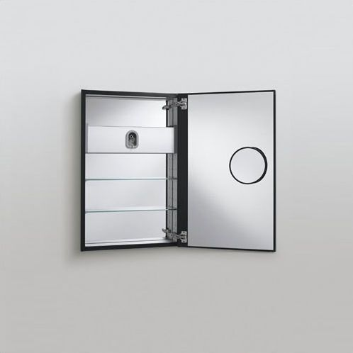Medicine Cabinet With Swing Out Magnifying Bathroom Mirror