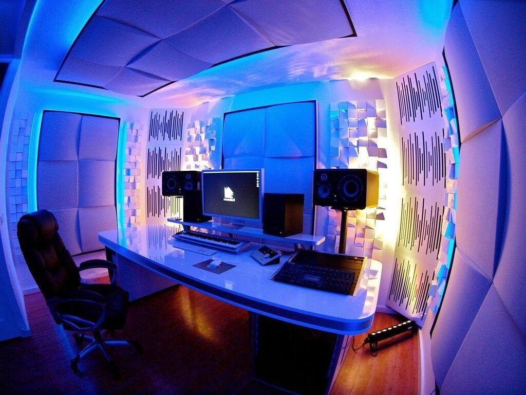 Amazing Studio :) | Sala de estudio musical, Diseño de estudio de ...