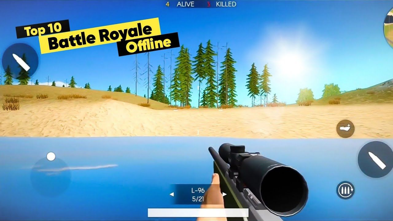 Top 10 Offline Battle Royale Games For Android 2020 Like Pubg Mobile Battle Royale Game Battle Offline Games