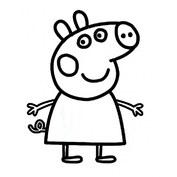 Peppa Pig Disegni Da Colorare On Line Fredrotgans