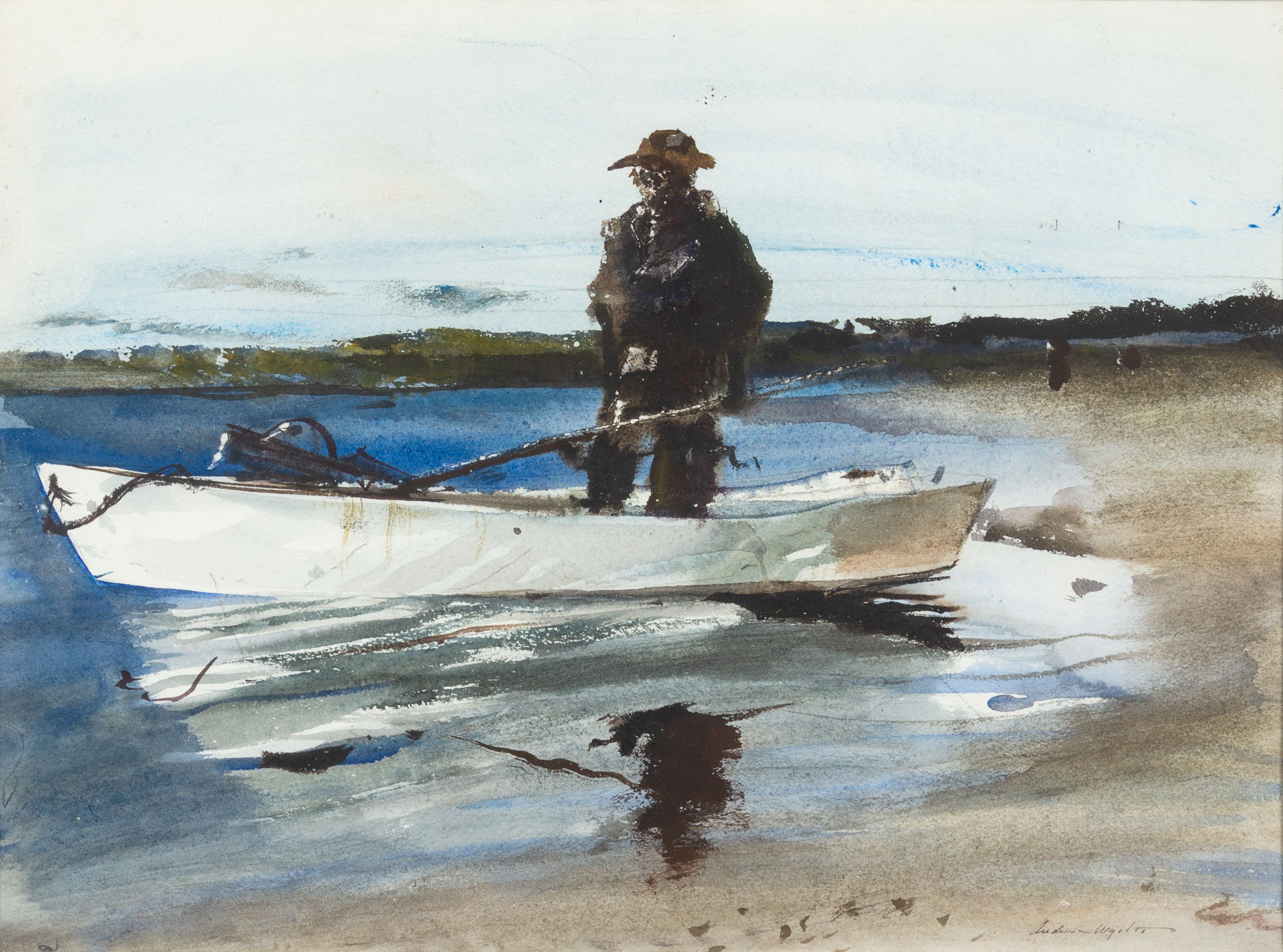 Andrew newell wyeth the clammer estimate 15000