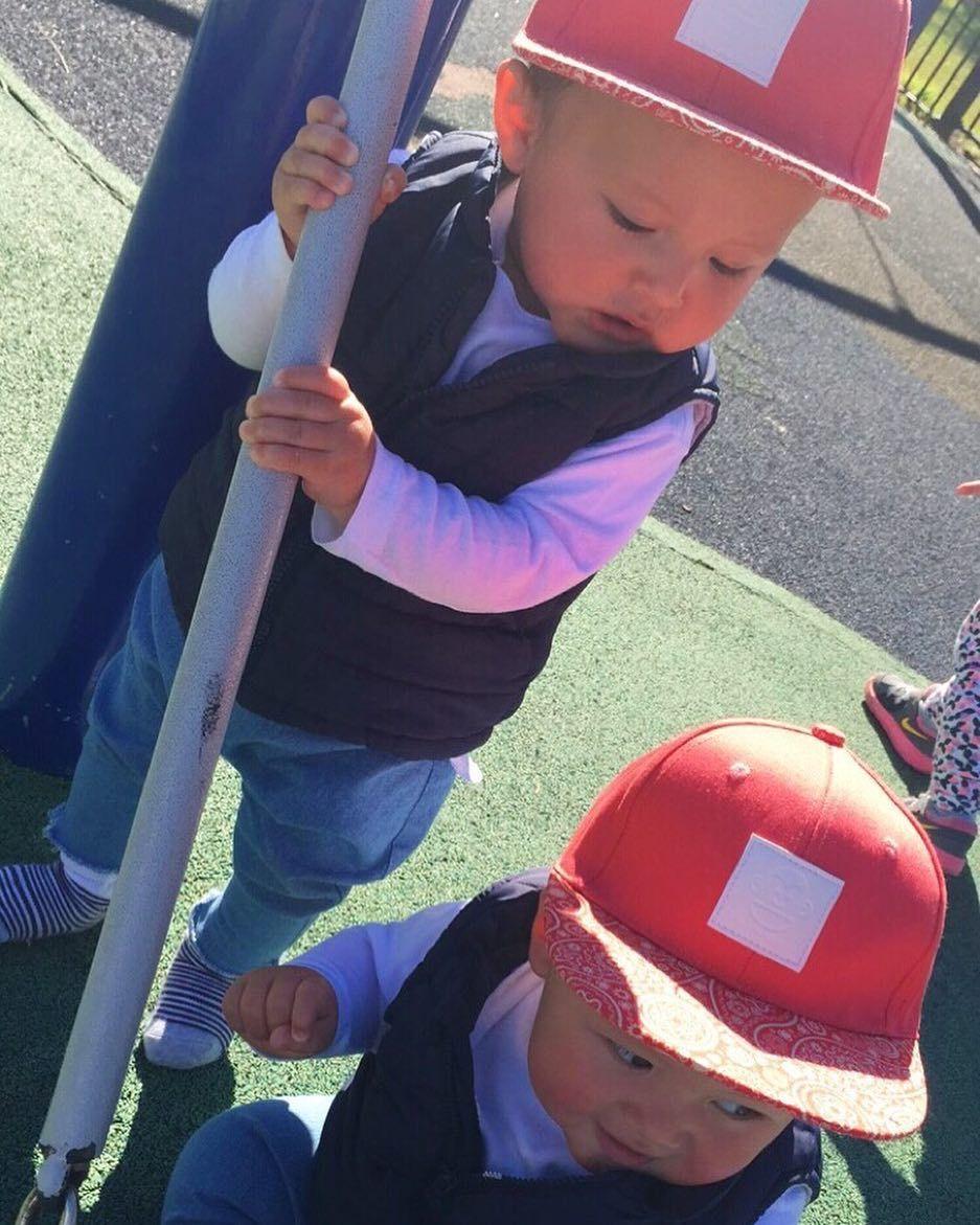 Park Life  | 733 | Watermelon Red | $25 Snapbacks | Free Domestic & Global Shipping #popnoggins #perfectlypaisley #snapback #snapbacks #swag #fashion #cap #hat #headwear #dope #streetwear #babyhats #babyswag #babyfashion #babygift #instababy #instakids #toddlerswag #toddlerlife #toddlerfashion #kidsfashion #fashionkids #kids #kidsstyle #kidswear #kidsclothes #kidswag  #stylish_cubs #kidsootd #ootd