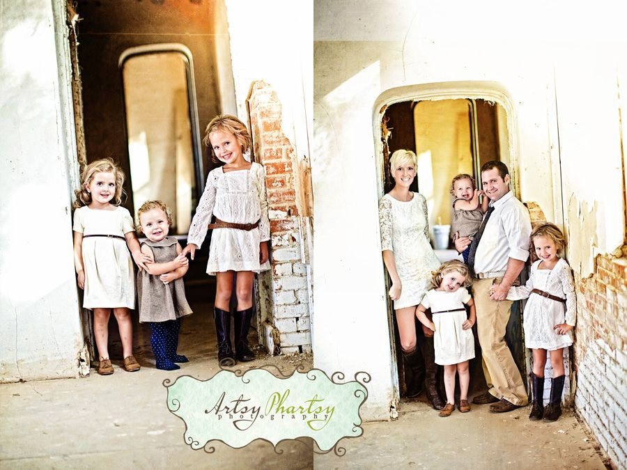 Great outfits for a family portrait