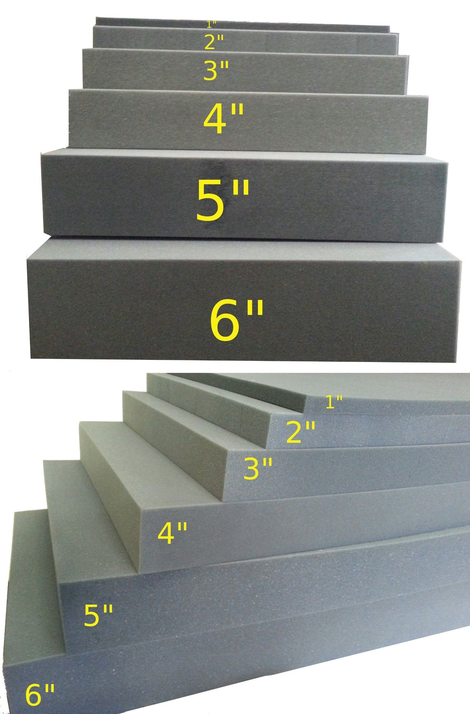 Details About 2 X24 X82 Firm Foam Rubber Replacement Sheet Great For Boat Seats And Benches Boat Seats Foam