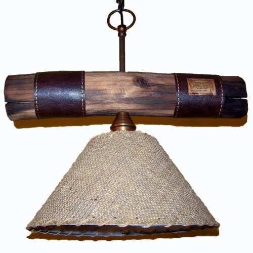 lamparas estilo campo fabrica lamparas de tronco rusticas