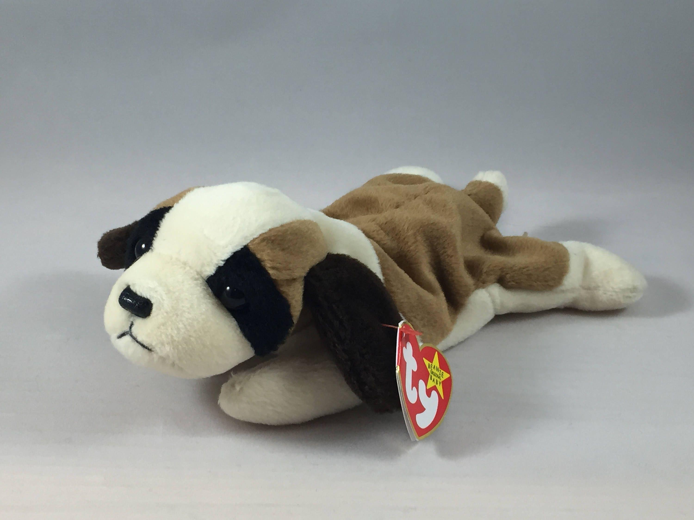 Bernie The Saint Bernard Plush Ty Beanie Baby Retired Stuffed