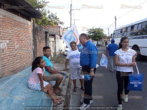 PACO Visita A Los Habitantes De La Colonia Cándido Aguilar : La Ventana Jarocha