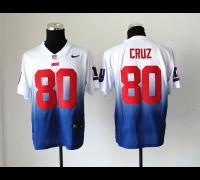 NEW New York Giants 80 Victor Cruz White Blue Drift Fashion II Elite NFL Jerseys #snapbacks_JERESYS #sports_JERSEYS#mens_fashion #NFL_logo #NFL JERSEY