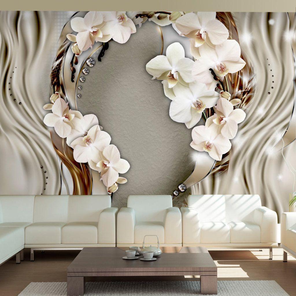 Wall Mural Photo Wallpaper Xxl Flowers Orchids Texture: Vlies Tapete ! Top ! Fototapete ! Wandbilder XXL ! 300x210