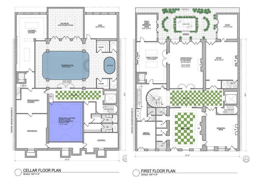 Imagining The Floorplan Of A 120m Manhattan Megamansion Floor Plans Home Design Plans Plan Design