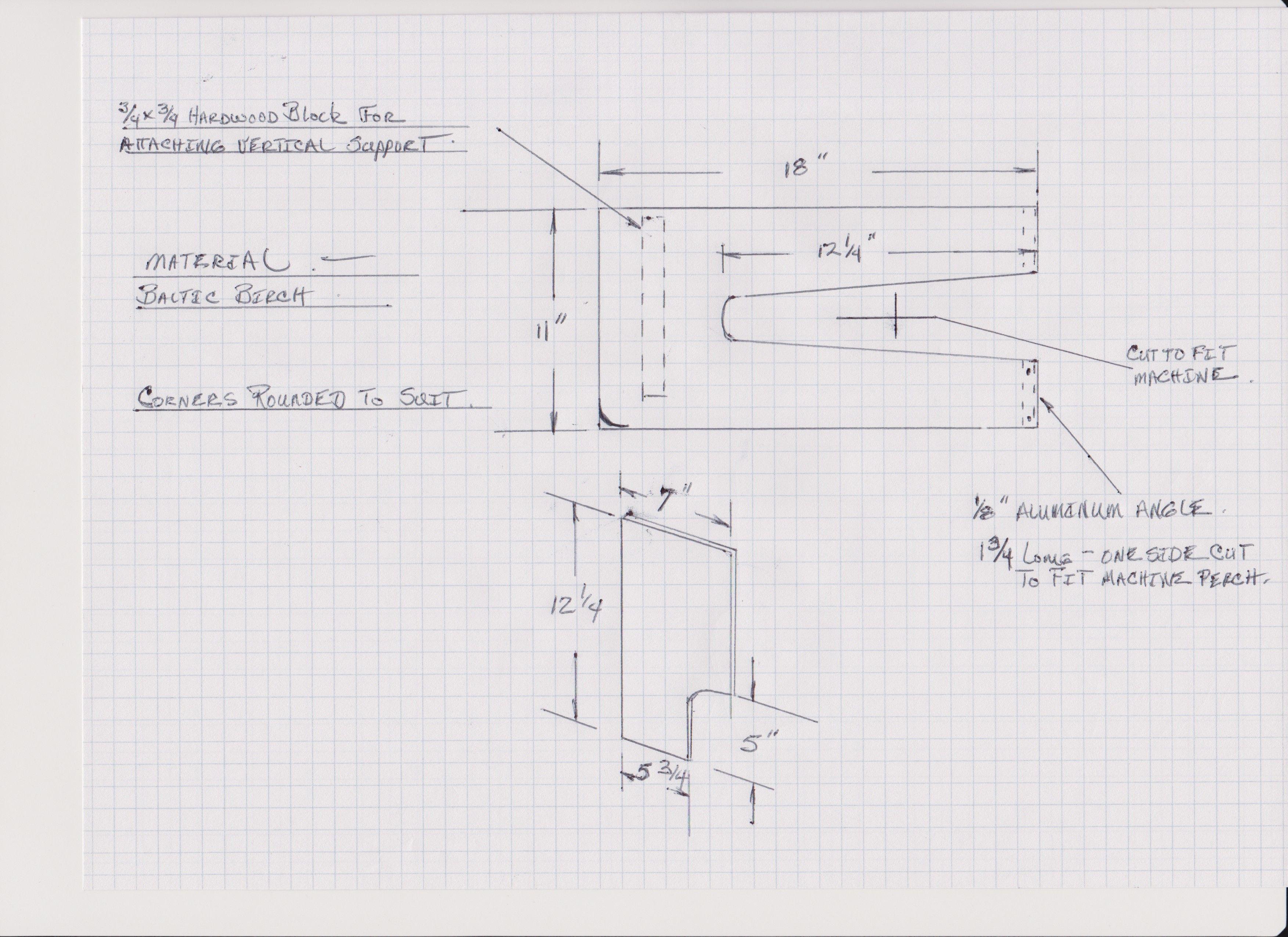 Table Extension Plans Singer 29k