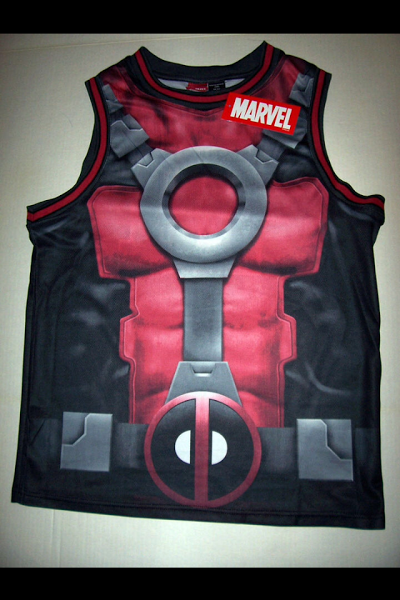 d233c201dbf Deadpool Bugle  Deadpool Basketball Jersey