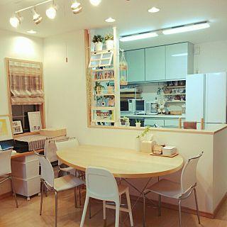 Overview/ナチュラル/IKEA/ダイニング/冷蔵庫/DIY...などのインテリア実例 - 2016-05-05 10:13:39