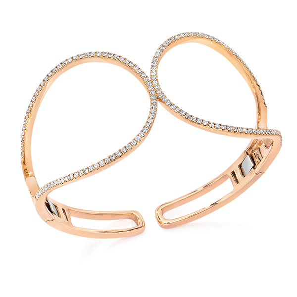 adcc71df16f Cellini Jewelers Rose Gold Open Racket Cuff. Perfect addition to your every  day style ! Pulseira De RelógioRaquetesJóias De OuroOuro ...