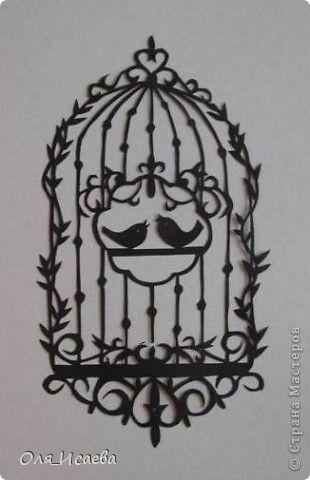 Картина панно рисунок Вырезание Птички Бумага фото 1