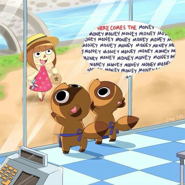 Tom Nook... Animal Crossing