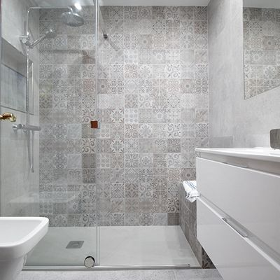 Ba o moderno pinteres for Banos modernos para apartamentos