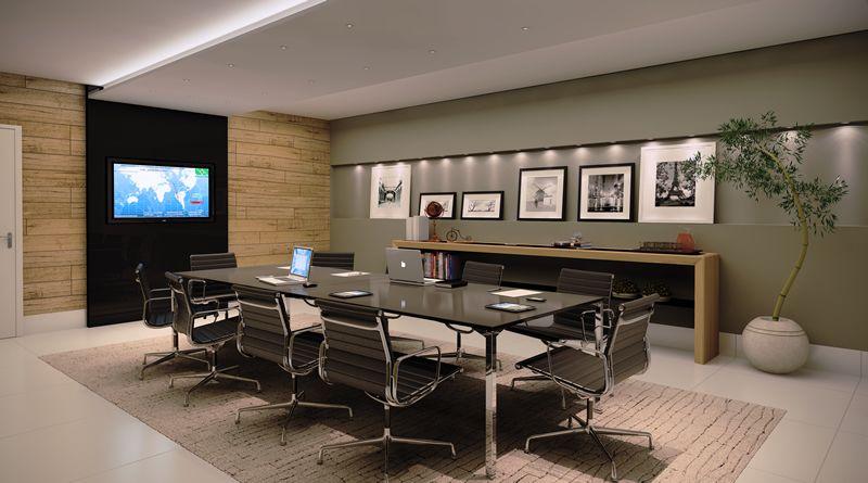 Sala de reuni es ref 1 em 2019 salas de reuni o for Sala design moderno